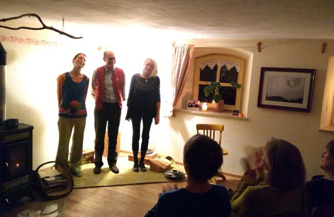 Viola, Volker und Beatrice